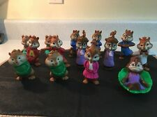 14 McDonalds 2009-2011 Talking Alvin and the CHIPMUNKS Happy Meal Toys