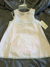 NWT baby girl cotton Blush Pink special occasions/Christening dress size 18m