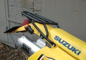 SUZUKI DR 250SE - DR350SE REAR RACK BLACK MOTORCYCLE BIKE LUGGAGE
