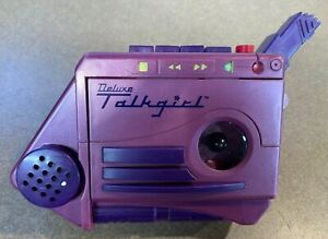 Vintage 1993 Rare Talkgirl Deluxe By Tiger As Seen On Home Alone 2 AS IS