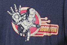 Ironman Avengers Marvel by Disney Store Distressed T-Shirt Adult XL