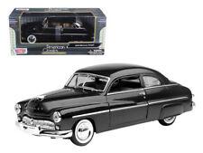 MotorMax 1:24 1949 Mercury Coupe Diecast Model Car Black 73225