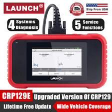 Launch X431 CRP129E OBD2 Scanner ABS Airbag Engine Transmission Diagnostic Tool