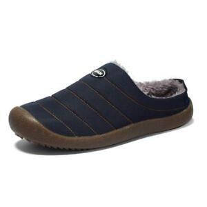 House Warm Home Slippers Shoes for Women Men Indoor Floor Fur Slippers Flock