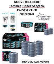 SANGENIC TOMMEE TIPPEE RICARICHE TWIST & CLICK TEC SIMPLEE ORIGINALE NEW AGRUMI