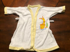 Vintage Baby Teddy Medium 1980s Infant Fish Shirt Cover New Without Tags