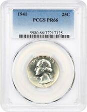 1941 25c PCGS PR 66 - Washington Quarter
