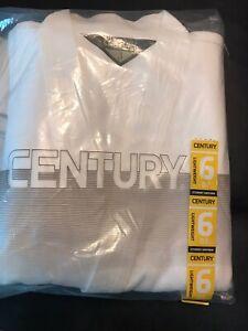 Brand New Sealed Century White 6oz Lightweight Martial Arts Uniform Size 3