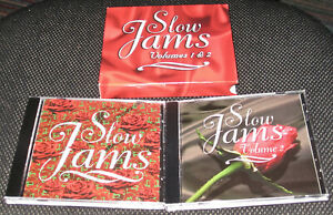 Slow Jams 1 & 2 Various Vol. 1-2 Set Slow Jams Soul / R & B 2 Discs CD Complete