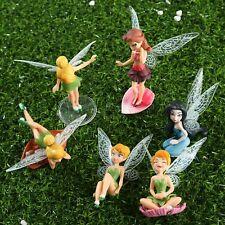 Mini Fairy Pixie Wing Spirit Baby Dollhouse Garden Ornament Random Style New