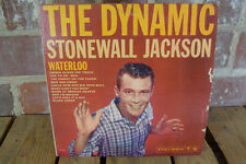 """The Dynamic Stonewall Jackson DEMO """"Not For Sale"""" Waterloo LP Record CL 1391"""