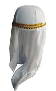 Arabian Prince Princess Aladdin Sheikh Headdress Keffiyeh Ghutra Costume
