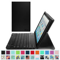 For All-New Amazon Fire HD 10 7th Gen 2017 Tablet Case Cover Stand w/ Keyboard