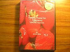 Fertility Power For Pregnancy - Self Hypnosis CD SRP $39