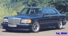 Mercedes W126 S Class SE GENUINE ZENDER SIDE SKIRTS up to 86