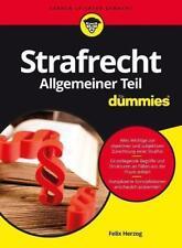 Strafrecht Allgemeiner Teil für Dummies von Felix Herzog (2017, Taschenbuch)