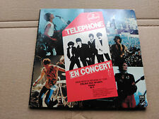 2 SINGLE TELEPHONE - EN CONCERT - PATHE FRANCE 1981 VG+