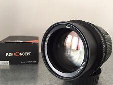 Near MINT 20-Blades TAIR-11A 135mm f2.8 Russian Telephoto Lens NIKON+NEX adapter