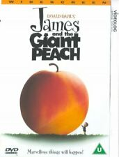 James And The Giant Peach [DVD] [1996][Region 2]