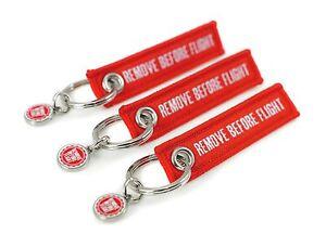 REMOVE BEFORE FLIGHT Schlüsselanhänger MINI   3er Set  Gratis Versand SALE