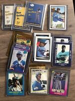 Lot (1,500+) Ken Griffey Jr Cards 1989-2020. RC, inserts, refractors, base, mini