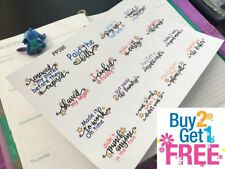 PP395 -- Adulting Is Hard Planner Stickers for Erin Condreb (16 pcs)