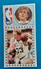 1986 1987 NBA MERCHANTE LARRY BIRD BOSTON CELTICS LEGEND SPANISH CARD