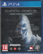 Middle Earth Shadow of Mordor Game of the Year PS4 Sony PlayStation 4 Brand NEW