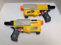 Nerf N-Strike Recon CS-6 Main Core BLASTER Only Lot of 2