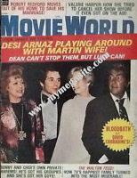 LUCILLE BALL - MOVIE WORLD MAGAZINE - Jan 1975 (Lucy & Desi Jr on the cover)