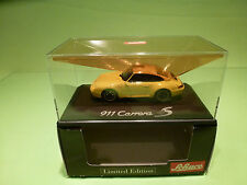 SCHUCO  PORSCHE 911 CARRERA 4S - 1:43 - MINT IN BOX LIMITED EDITION