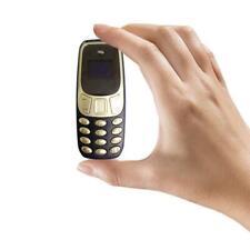 BM10 Pocket Tiny Mini Mobile Cell Phone Keypad SIM Dual Bluetooth GS Gift F5X6