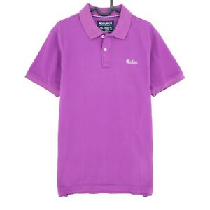 Woolrich Violeta Gracious Cuello Polo Camiseta Talla M