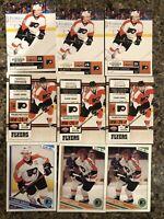 Philadelphia Flyers Premium Card Lot (59) Giroux Briere Pronger Jagr