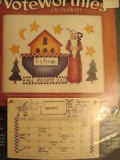 Alma Lynne Noteworthies SS NOAH Cross Stitch/Calendar Kit -10x8 Inches (25.4x20.