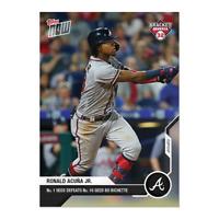 Ronald Acuna Jr 2020 MLB TOPPS NOW Bracket Bonanza #BB1-25 Atlanta Braves