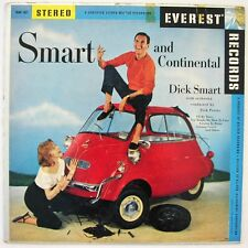 DICK SMART 'Smart & Continental' LP Isetta BMW 600 microcar Everest Records 50's