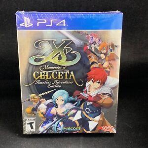 Ys: Memories of Celceta - Timeless Adventurer (PS4 / PlayStation 4) BRAND NEW