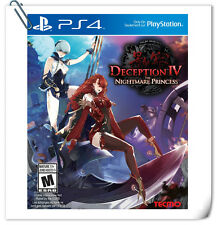 PS4 Deception IV The Nightmare Princess SONY PLAYSTATION Games Action Koei Tecmo