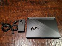 """ASUS ROG Strix G15 15.6"""" 144Hz Gaming Laptop - i7 10750H, 16GB RAM, RTX 2070"""