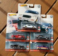 2020 Hot Wheels Car Culture Release T - Power Trip - SET OF 5