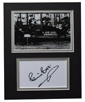 Pete Best Signed Autograph 10x8 photo display Beatles Music AFTAL COA