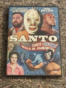 Santo Y Blue Demon Contra El Dr. Frankenstein (DVD, Spanish) NEW *RARE OOP*