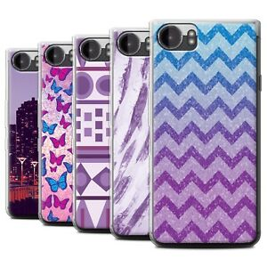 STUFF4 Gel/TPU Case/Cover for Blackberry KeyOne/BBB100/Purple Fashion