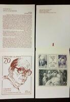 H419 Sweden 1991 MNH stamp booklet Czeslaw Slania