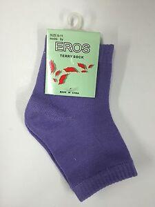 Women's Spa Pedicure Socks by Eros Size 9-11 (NEW)