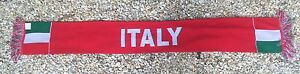 Italy Soccer Scarf ~ Country Of Italy Scarf