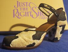 Miniaturschuh  - Just the Right Shoe - 25036 Bovine Bliss NEU OVP