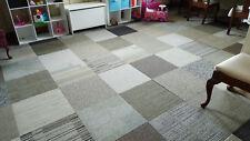 500 sq ft Brand New Carpet Tile Square Tiles Gray Black Silver Modular Assorted