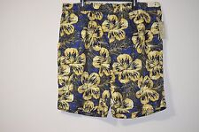Roundtree & Yorke Caribbean Men's Floral Swimming Trunks Multi-Color-Size Big 2X